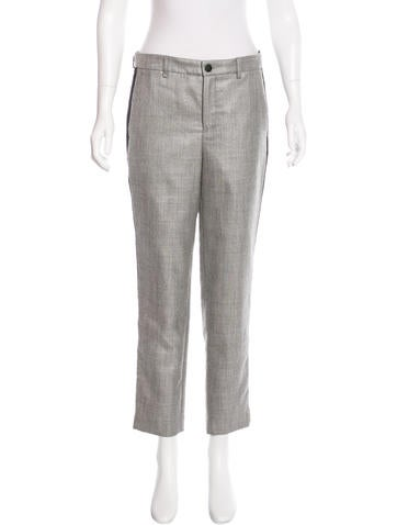 Rag & Bone Wool Cropped Pants