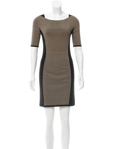 Rag & Bone Knit Mini Dress None