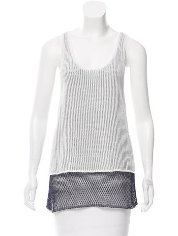Rag & Bone Sleeveless Scoop Neck Top None