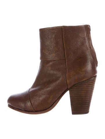 Rag & Bone Leather Newbury Ankle Boots