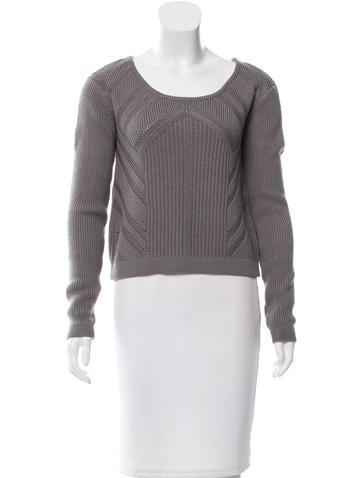 Rag & Bone Knit Scoop Neck Sweater None