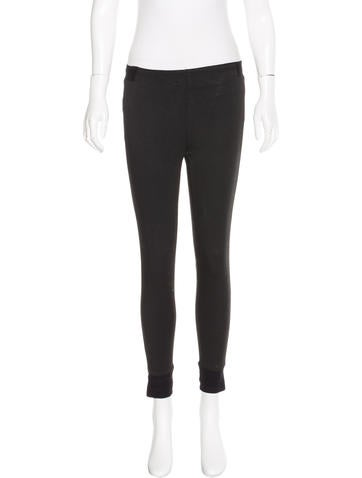 Rag & Bone Metallic Skinny Leggings None