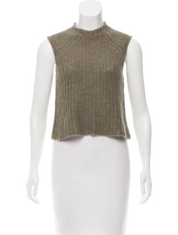 Rag & Bone Sleeveless Rib Knit Top w/ Tags None