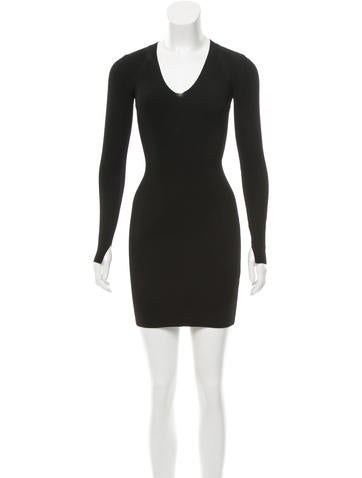 Rag & Bone Knit Bodycon Dress None