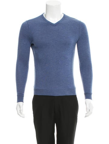 Rag & Bone Wool V-Neck Sweater None