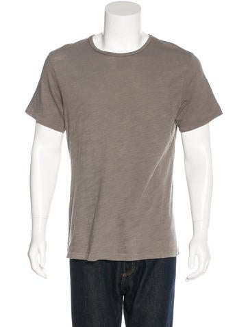 Rag & Bone Crew Neck T-Shirt None