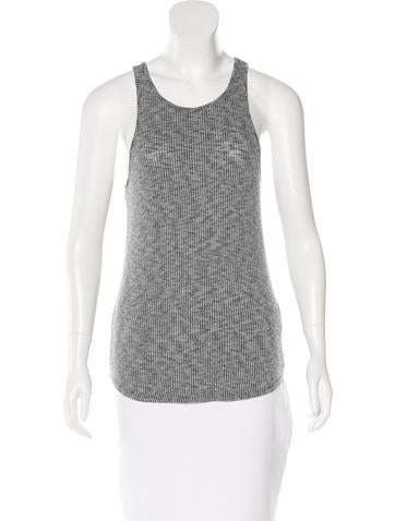 Rag & Bone Sleeveless Rib Knit Top None
