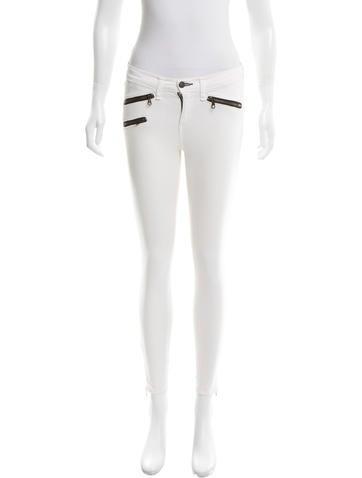 Rag & Bone Stripe Skinny Jeans