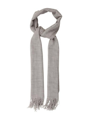 Rag & Bone Wool Rib Knit Scarf None