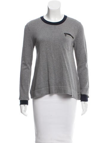 Rag & Bone Colorblock Long Sleeve Top None