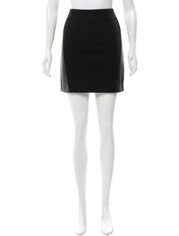 Rag & Bone Wool Mini Skirt None