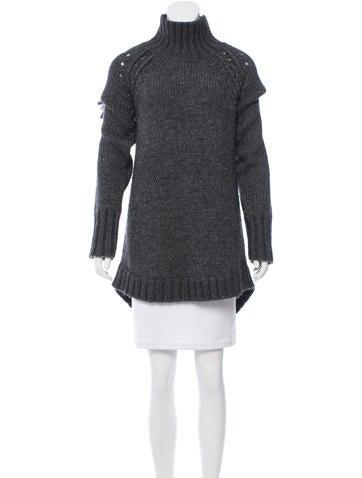 Rag & Bone Wool-Blend Mock Neck Sweater