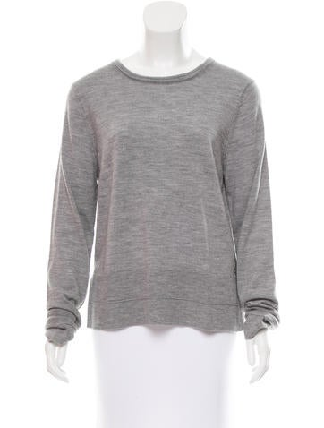 Rag & Bone Wool Long Sleeve Sweater None