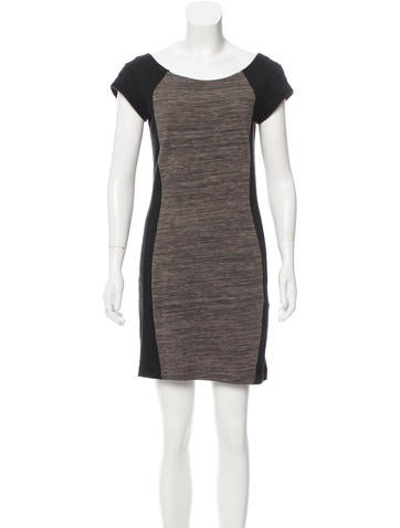 Rag & Bone Mini Rib Knit Dress None