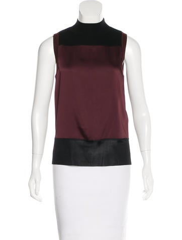Rag & Bone Sleeveless Mock Neck Top None