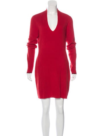 Rag & Bone Rib Knit Cashmere Dress None