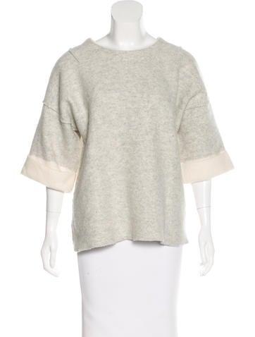 Rag & Bone Knit Wool Sweater None