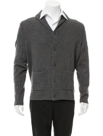 Rag & Bone Shawl Collar Wool Cardigan None