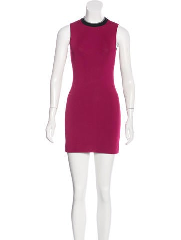 Rag & Bone Sleeveless Bodycon Dress None