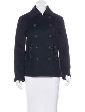 Rag & Bone Wool Double-Breasted Peacoat