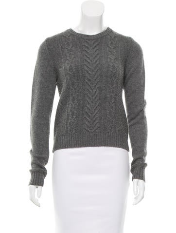 Rag & Bone Wool Cable Knit Sweater None