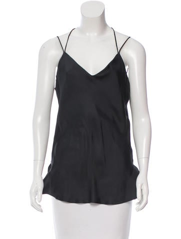 Rag & Bone Sleeveless Silk Top None