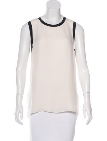 Rag & Bone Silk Sleeveless Top None