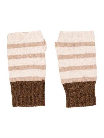 Rag & Bone Striped Fingerless Gloves