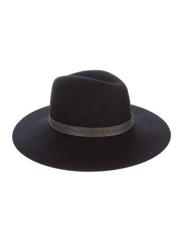 Rag & Bone Wool Wide-Brim Hat None