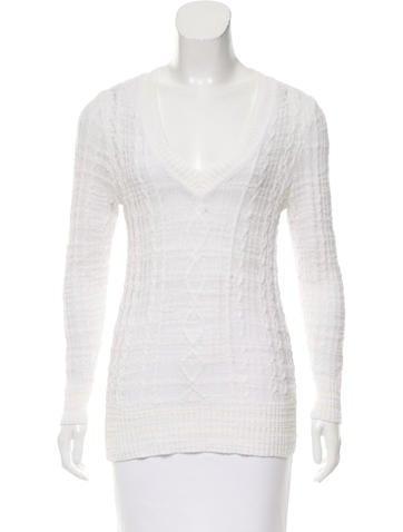 Rag & Bone Open Knit Oversize Sweater None