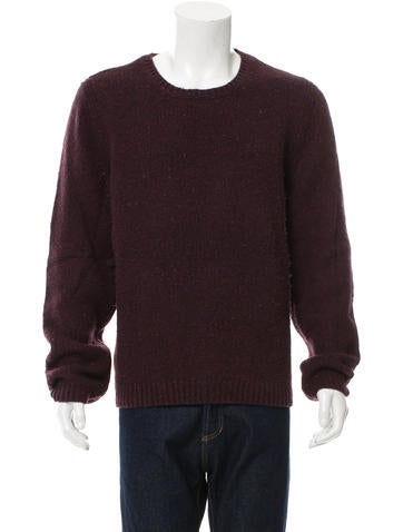 Rag & Bone Wool Scoop Neck Sweater None