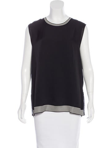 Rag & Bone Sleeveless Striped Top None