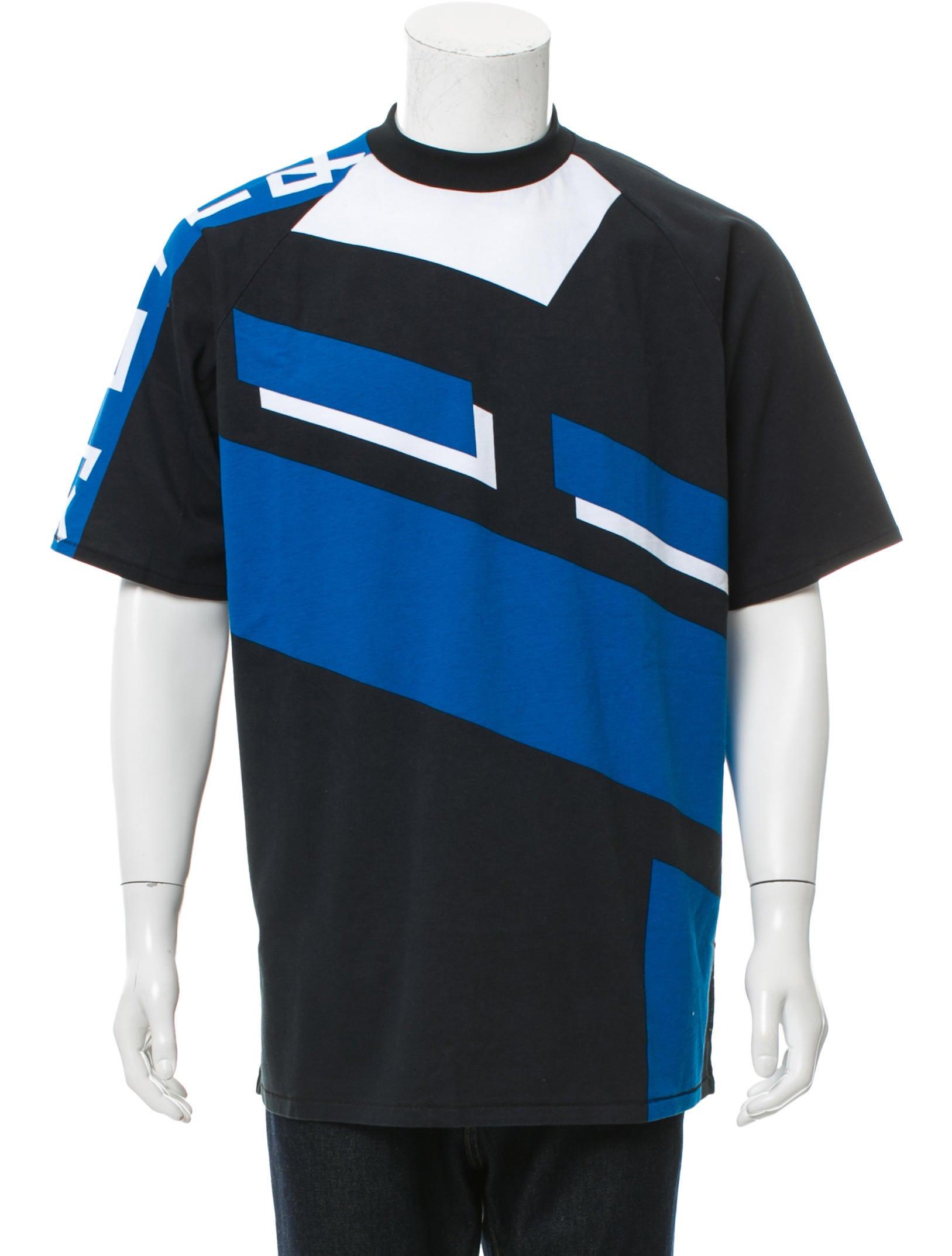 Rag Bone Japanese Moto Print T Shirt Clothing