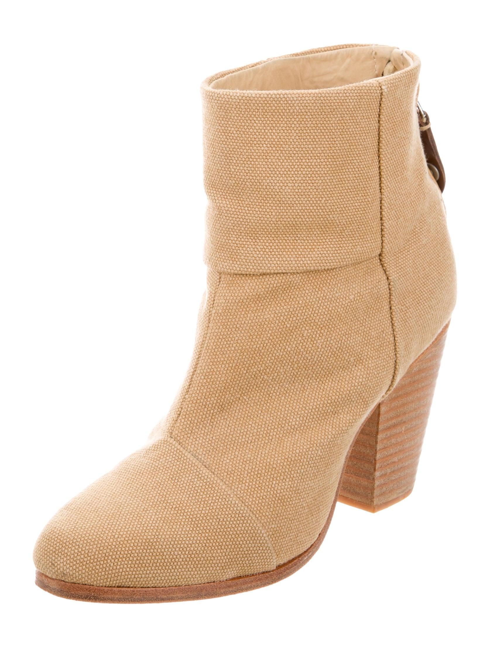 rag bone canvas newbury ankle boots shoes wragb62511
