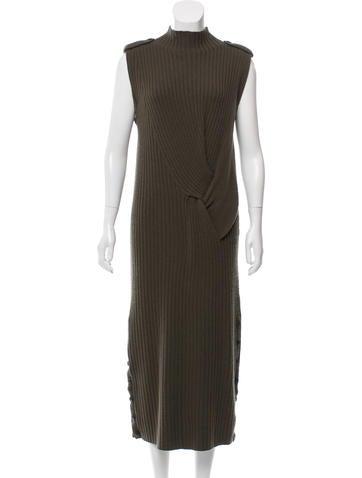 Rag & Bone Wool Rib Knit Dress None