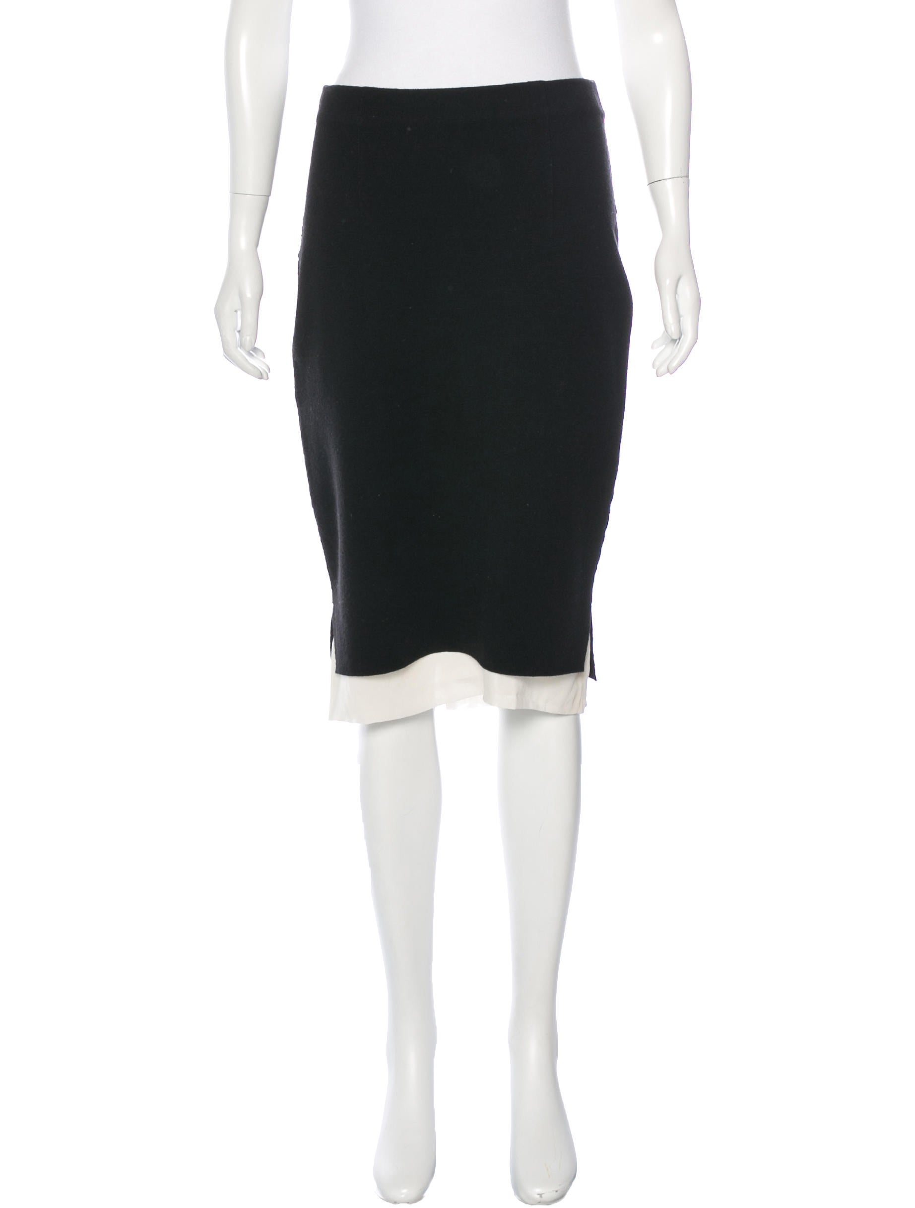 rag bone layered pencil skirt skirts wragb62842