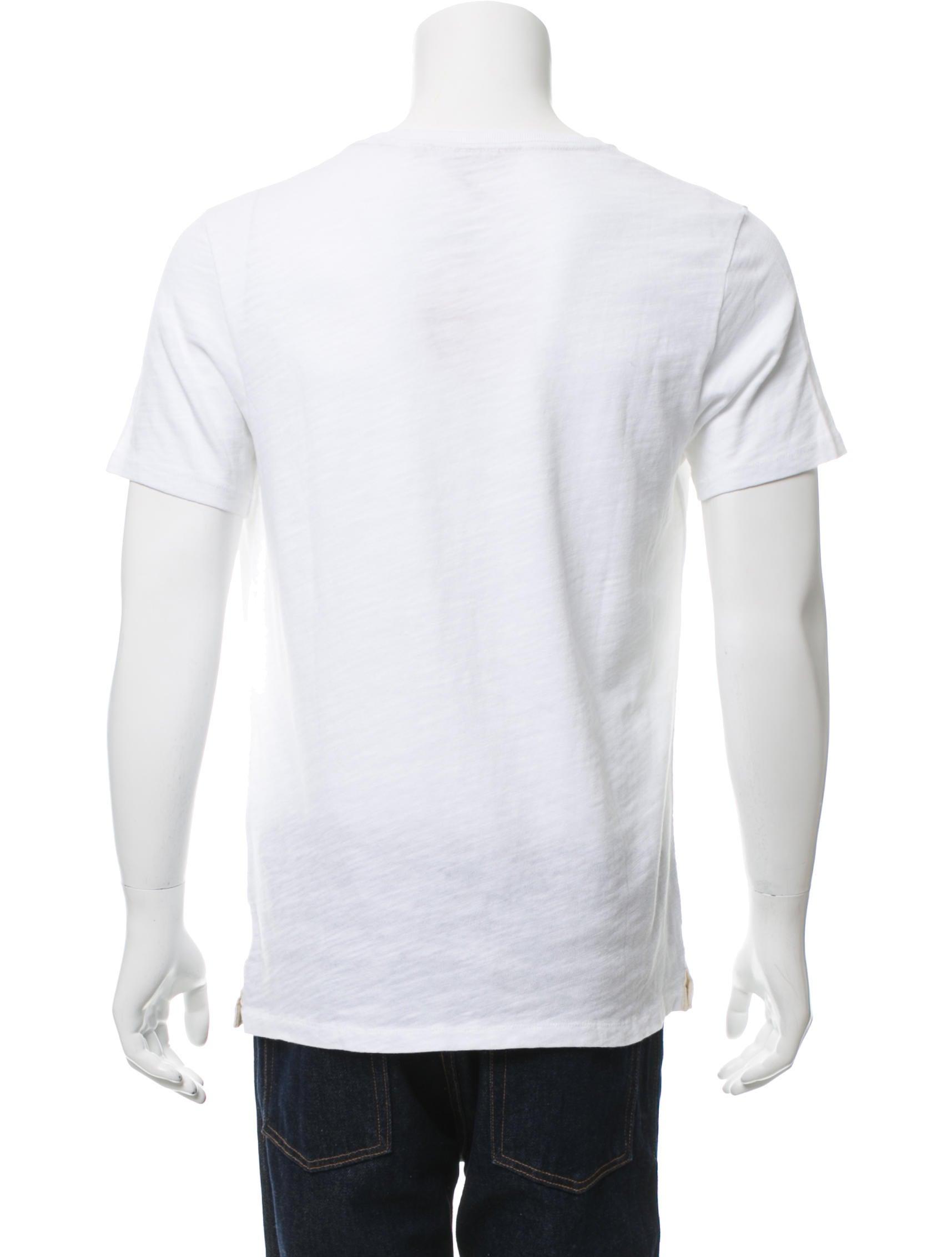 Rag bone graphic pocket t shirt w tags clothing for Rag and bone white t shirt