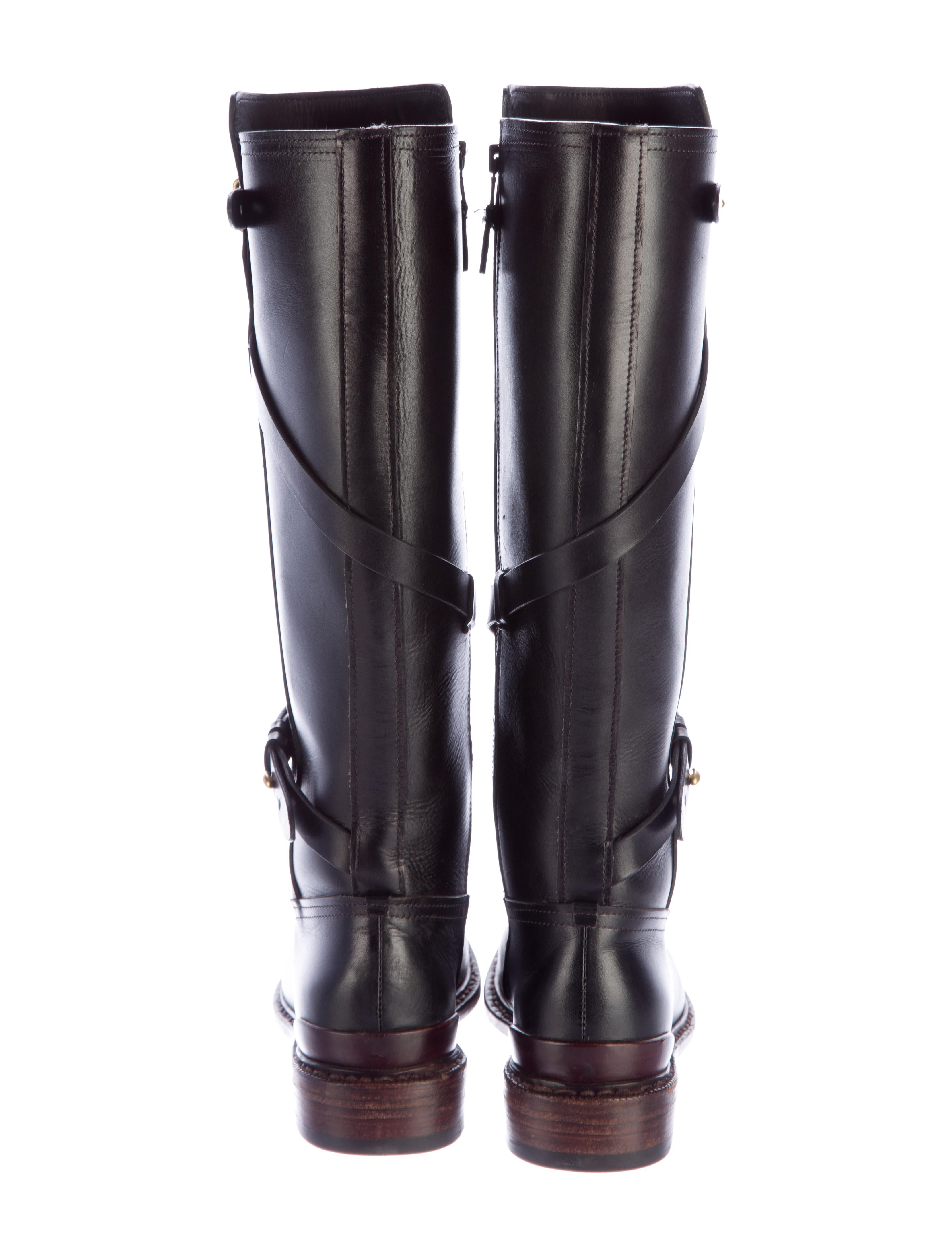 rag bone leather knee high boots shoes wragb62947