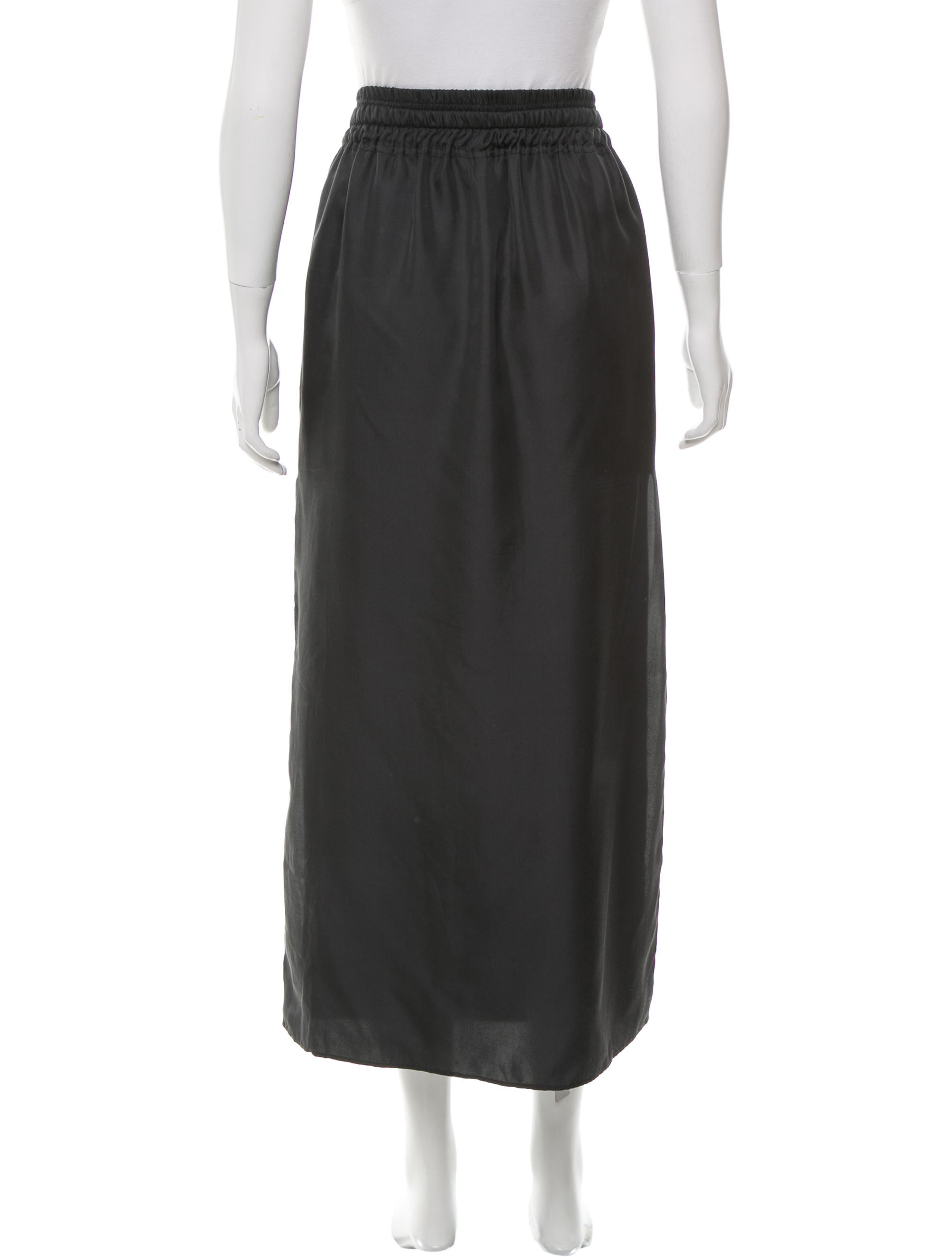 rag bone silk midi skirt clothing wragb63021 the