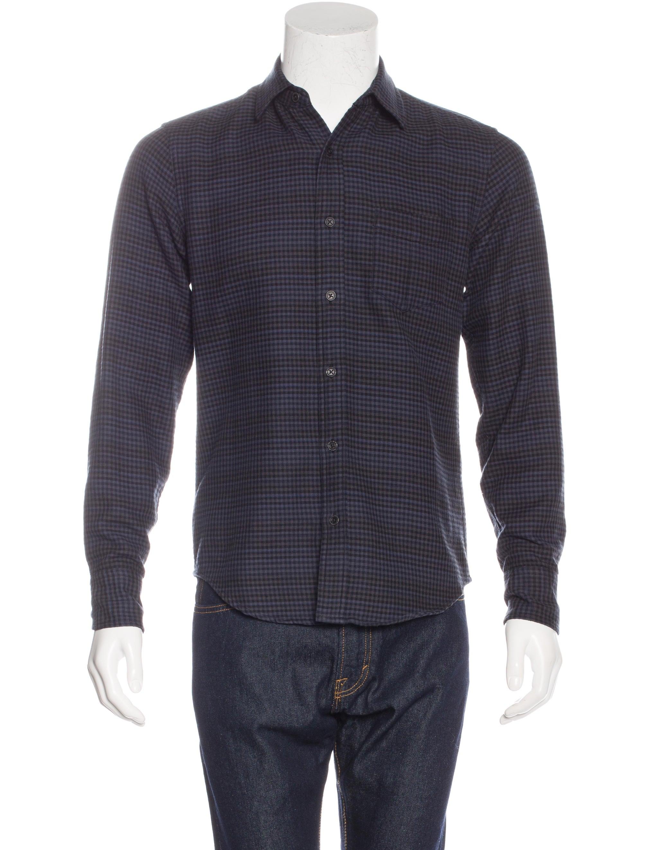 Rag Bone Plaid Flannel Shirt Clothing Wragb63062