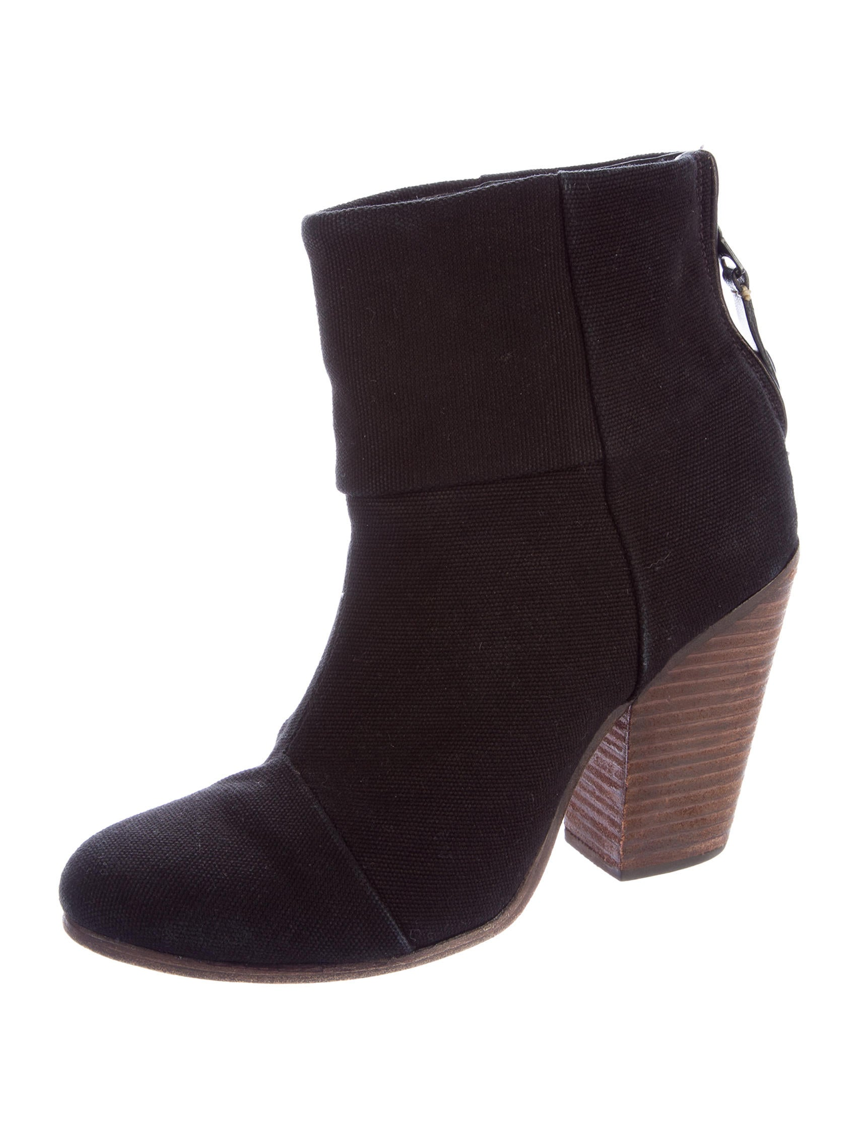 rag bone newbury canvas ankle boots shoes wragb63850