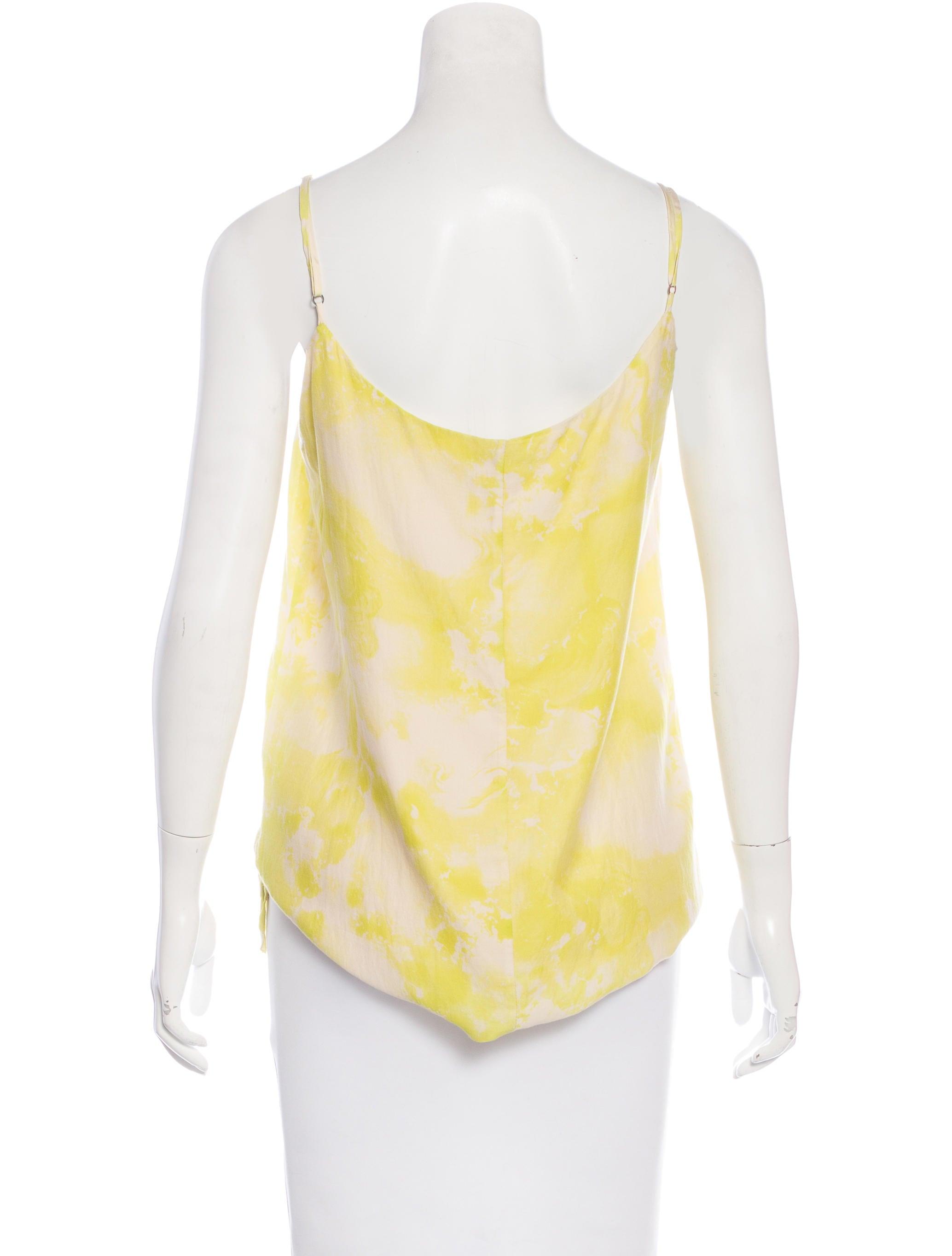 Rag bone tie dye sleeveless camisole clothing for Tie dye sleeveless shirts
