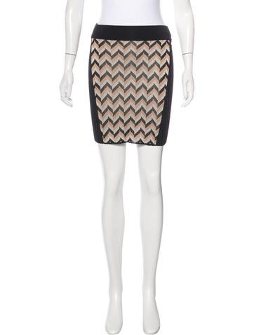 Rag & Bone Paneled Rib Knit Skirt w/ Tags None