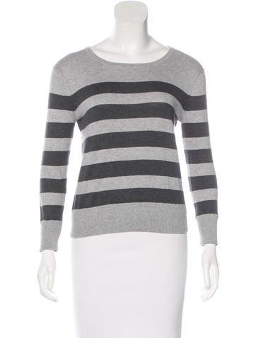Rag & Bone Striped Crew Neck Sweater None