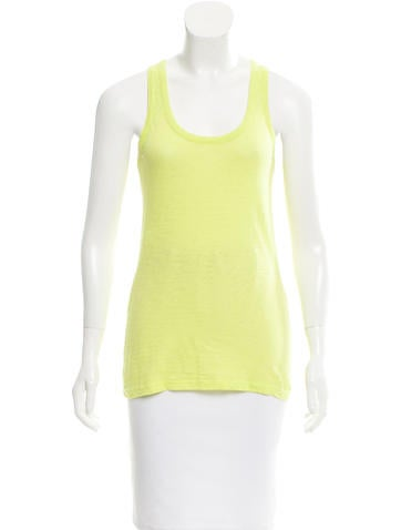 Rag & Bone Scoop Neck Sleeveless Top None