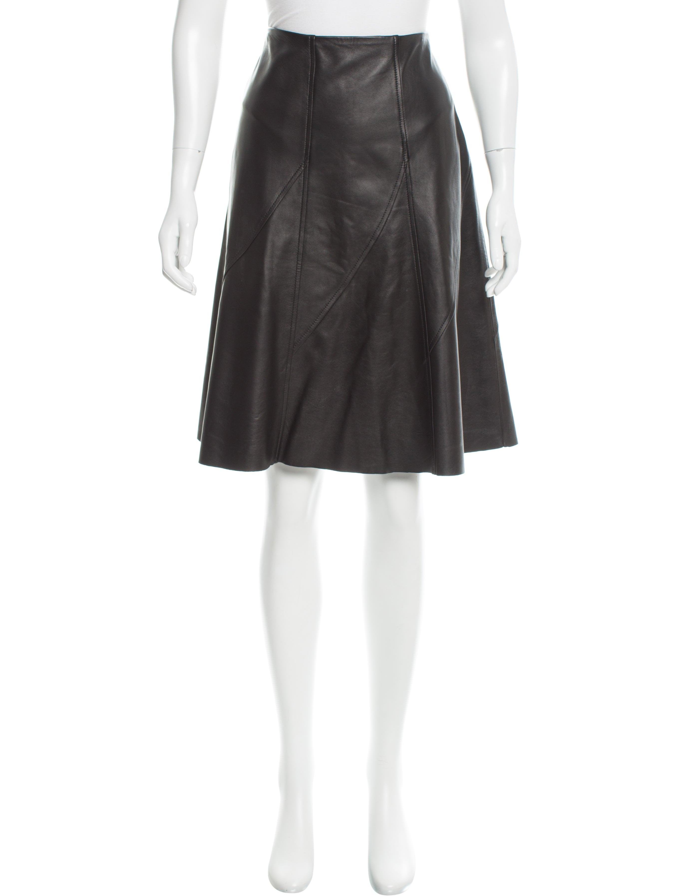 rag bone leather a line skirt clothing wragb65187