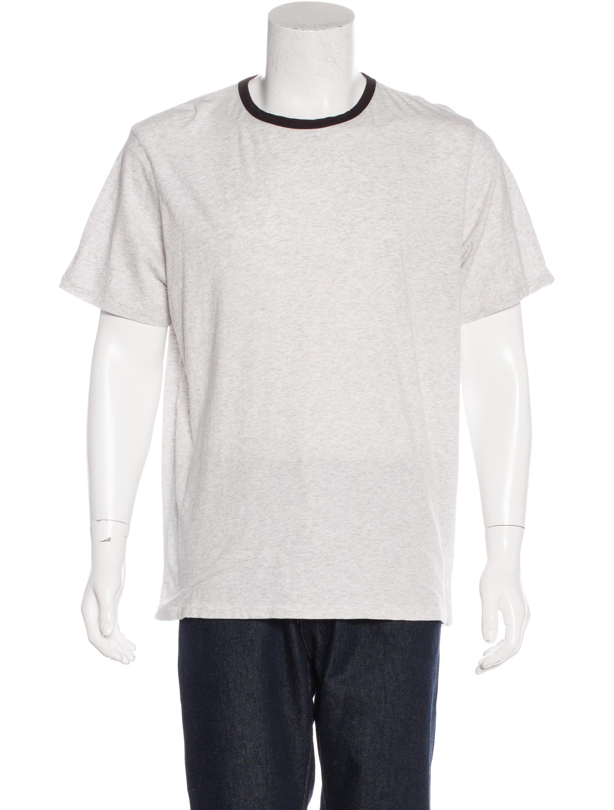 Rag Bone Heathered Short Sleeve T Shirt Clothing