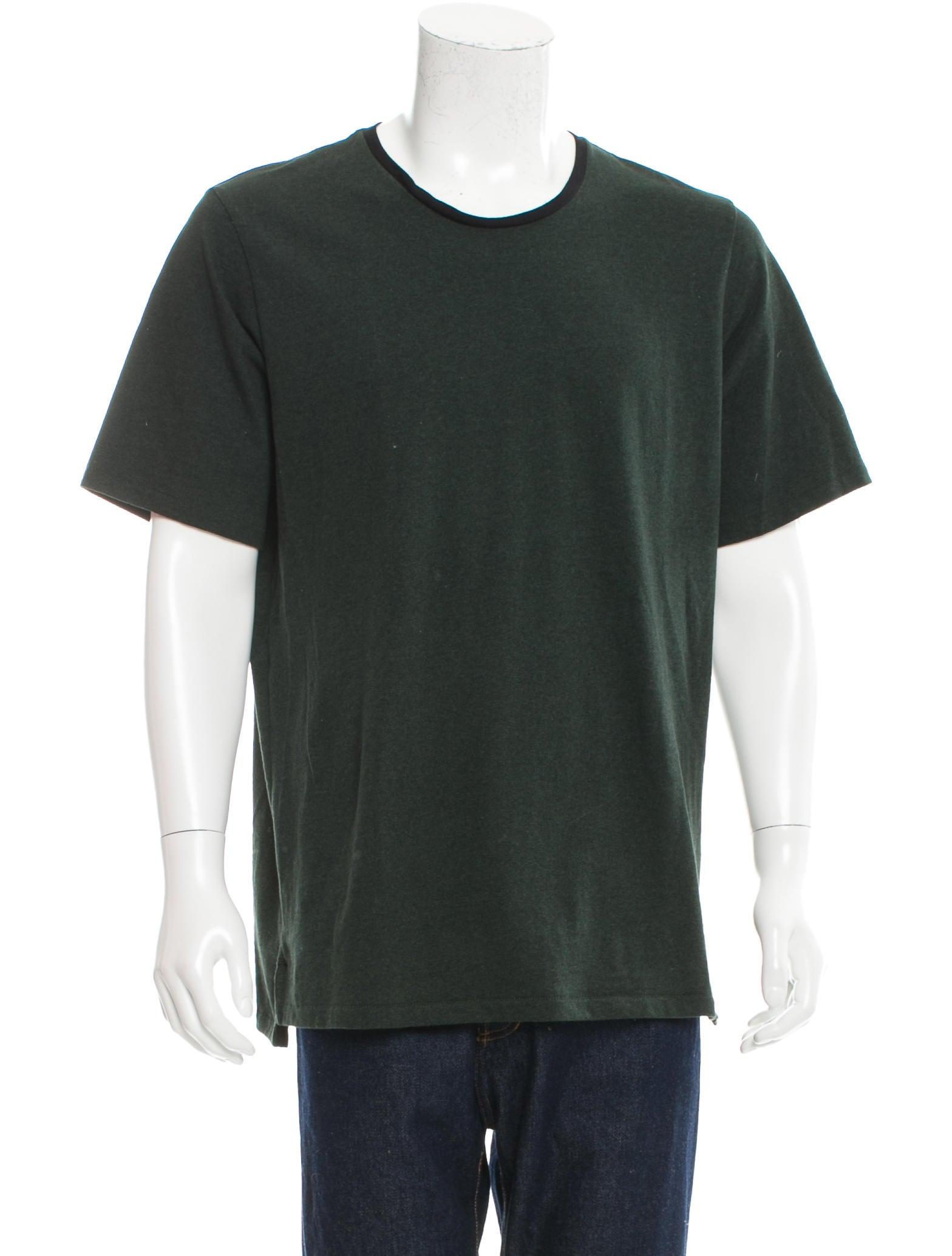 Rag Bone Short Sleeve Scoop Neck T Shirt Clothing