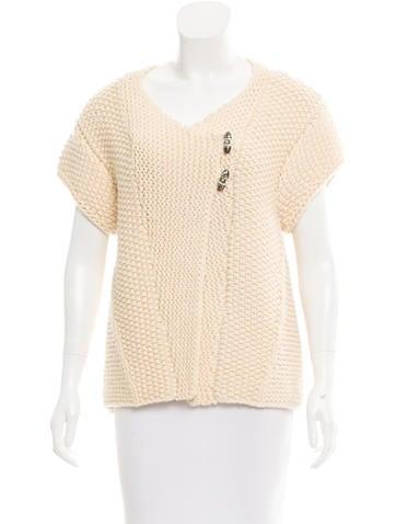 Rag & Bone Wool Short Sleeve Cardigan None