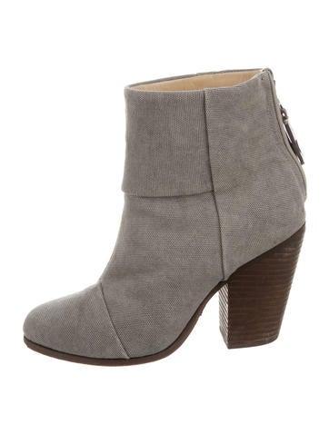 rag bone canvas newbury ankle boots shoes wragb66452